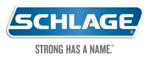 Schlage logo with tagline 2